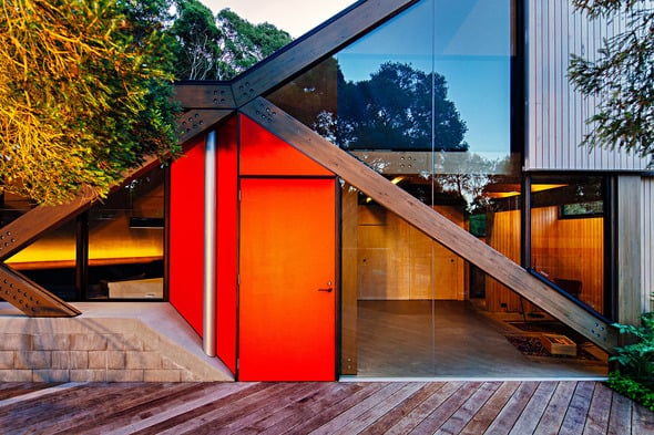 Holiday Cabin By Maddison Architects Designed As An