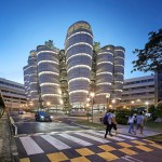 666_16_Learning-Hub_Evening-view-of-the-Learning-Hub-from-Nanyang-Drive_CREDIT_Hufton-and-Crow