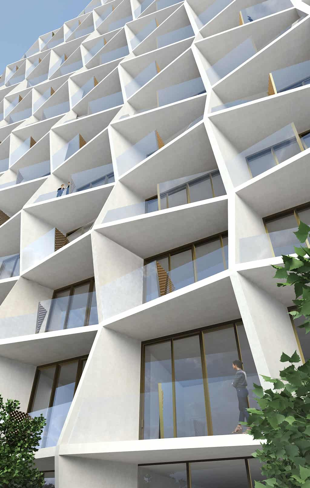 Leed Gold Residences For Miami Design District By Studio