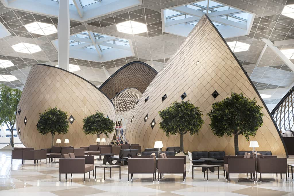 Heydar aliyev international airport a majestic gateway for International azerbaijan decor expo