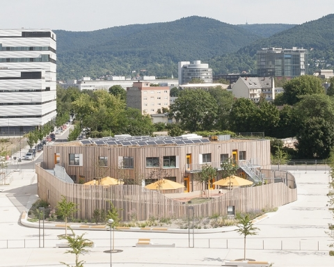 CHILDREN'S DAYCARE CENTRE ON SCHWETZINGER TERRASSE 1