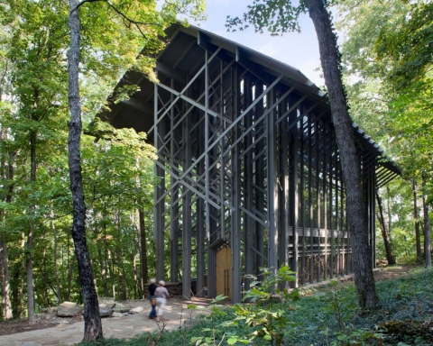 Thorncrown-Chapel---Euine-Fay-Jones---Randall-Connaughton-10