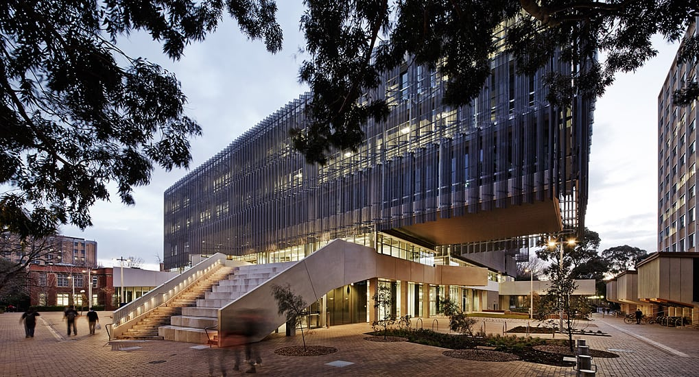 Melbourne design school by john wardle architects nadaa for University of melbourne landscape architecture