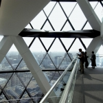 The gherkin - 30 st. mary axe tower interior