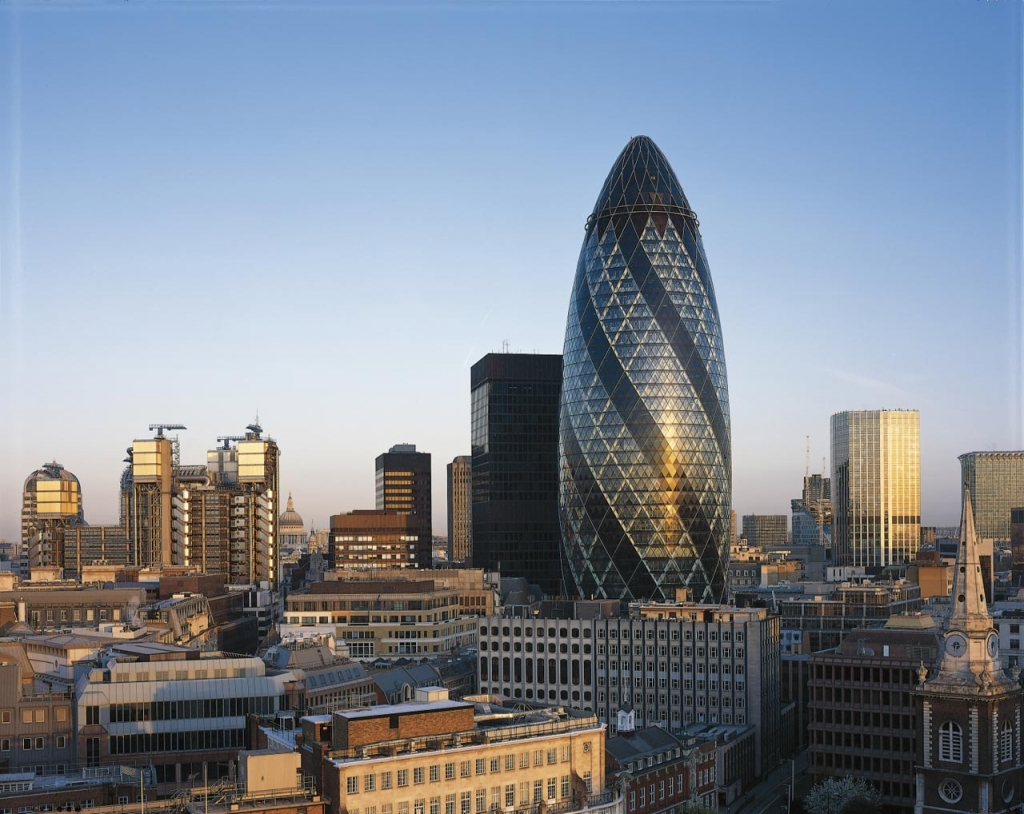 The gherkin - 30 st. mary axe dome 1