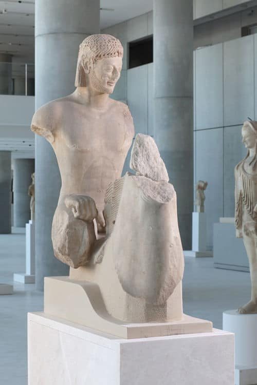 New Acropolis Museum sculpture