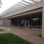Kimbell Art museum expansion front facade