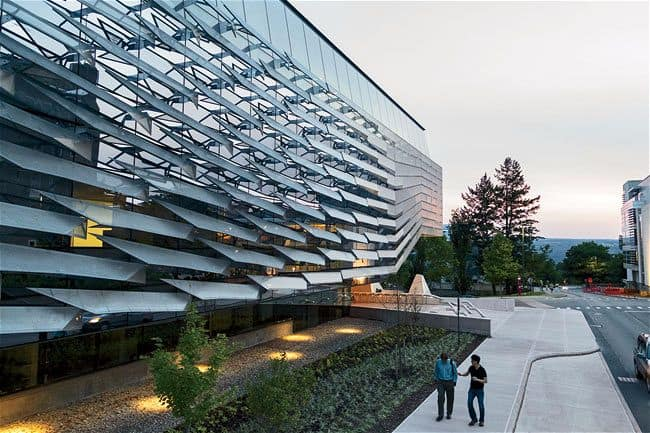 Bill Melinda Gates Hall Cornell University Morphosis Architects