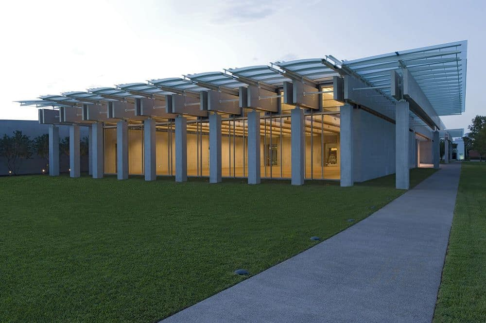 Kimbell Art museum expansion by Renzo Piano