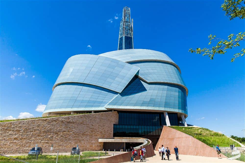 Canadian Museum for Human Rights by Antoine Predock Architect