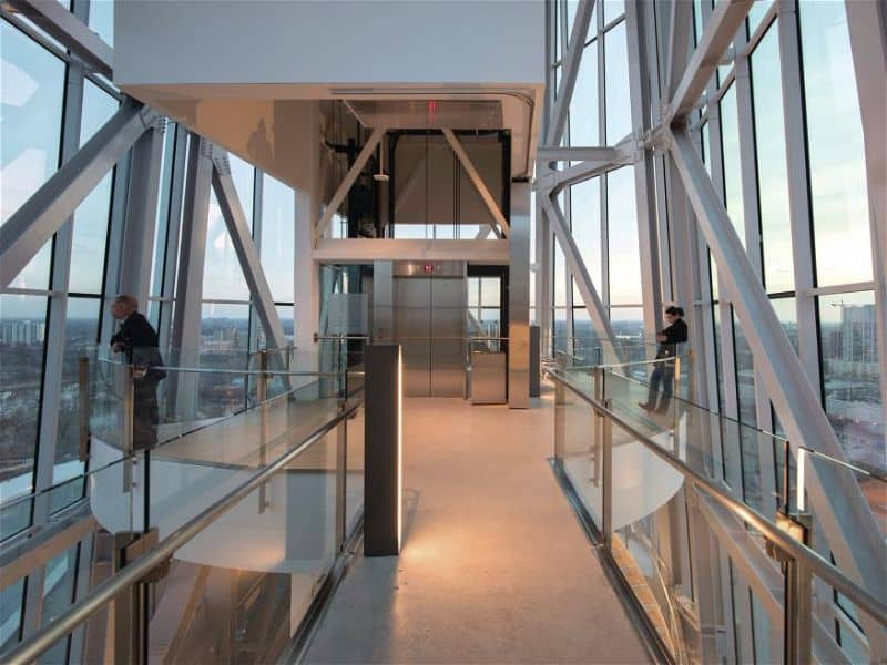 Canadian Museum for Human Rights Observation deck platform