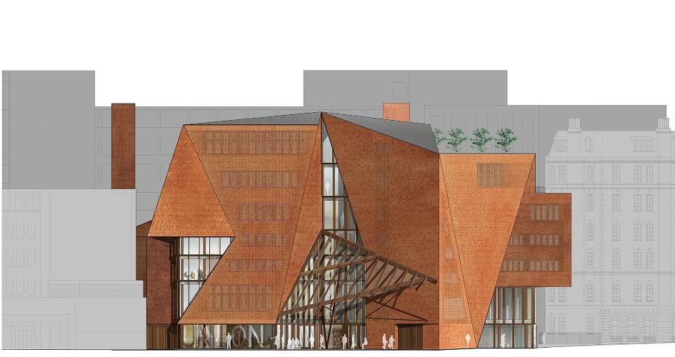 Saw Swee Hock Student Centre elevation