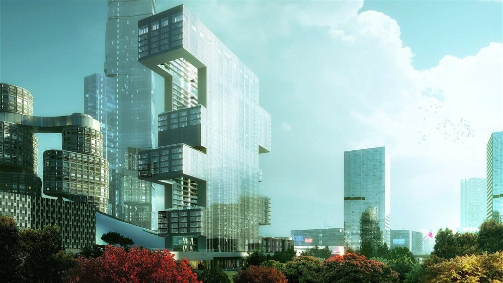 yongsan international business district by rex architects project R6 visualization 1