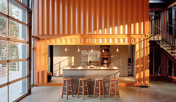 12 shipping container homes by Adam Kalkin