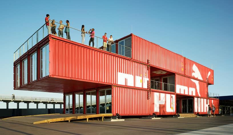 Puma City by LOT-EK architects