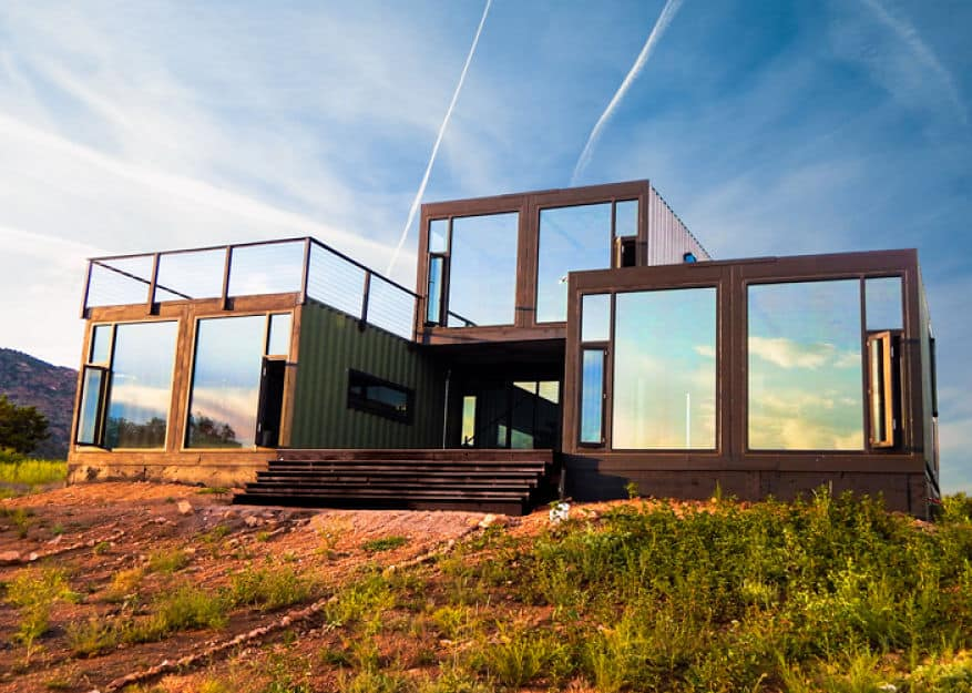Canon City Container Cabin by Tomecek Studio
