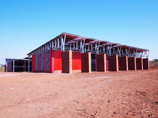 Malawi school by Architecture for a Change