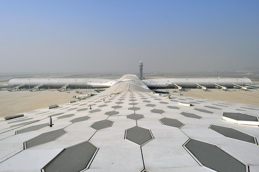 Shenzhen Bao'an International Airport Terminal 3 Studio Fuksas exterior 3