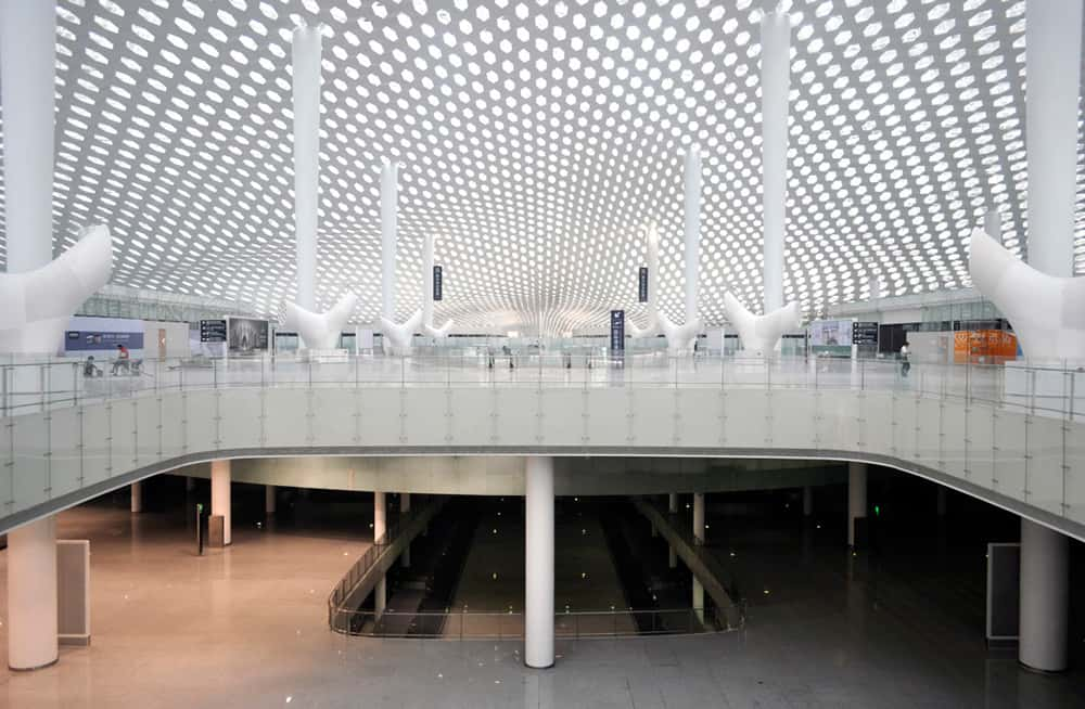 Shenzhen Bao'an International Airport Terminal 3 Studio Fuksas interior 15