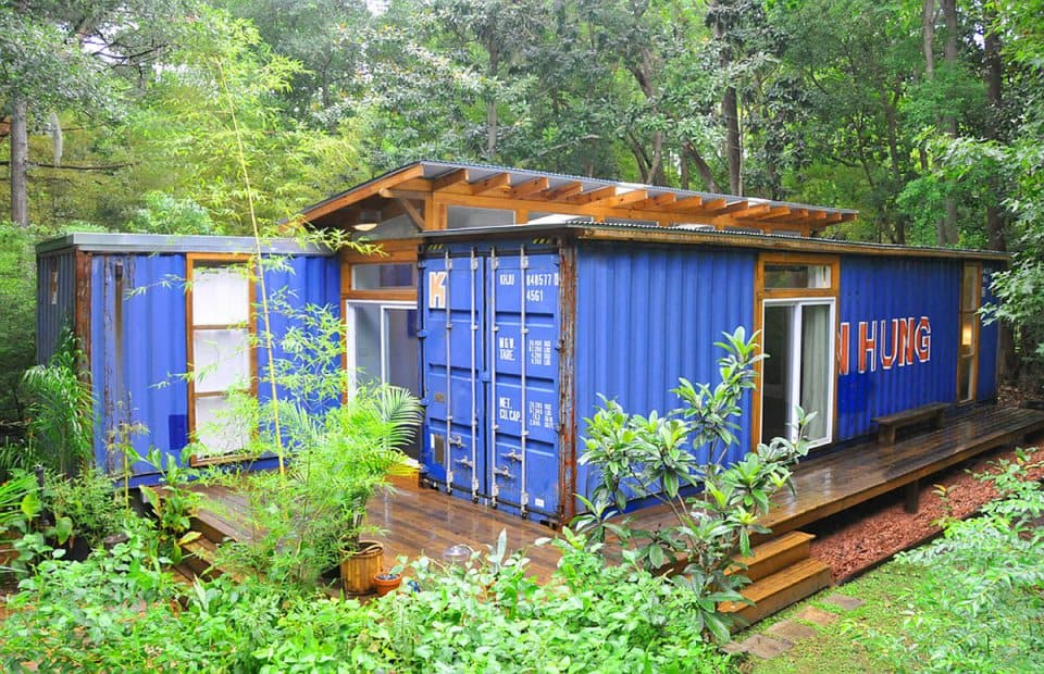 The Savannah Project container home by Julio Garcia
