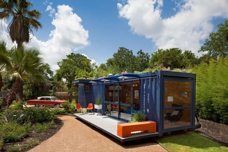 smaller container studio by Jim Poteet architects
