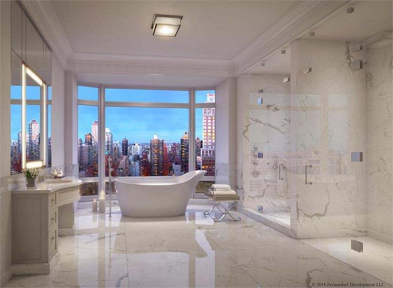 520 Park Avenue by ramsa bathroom
