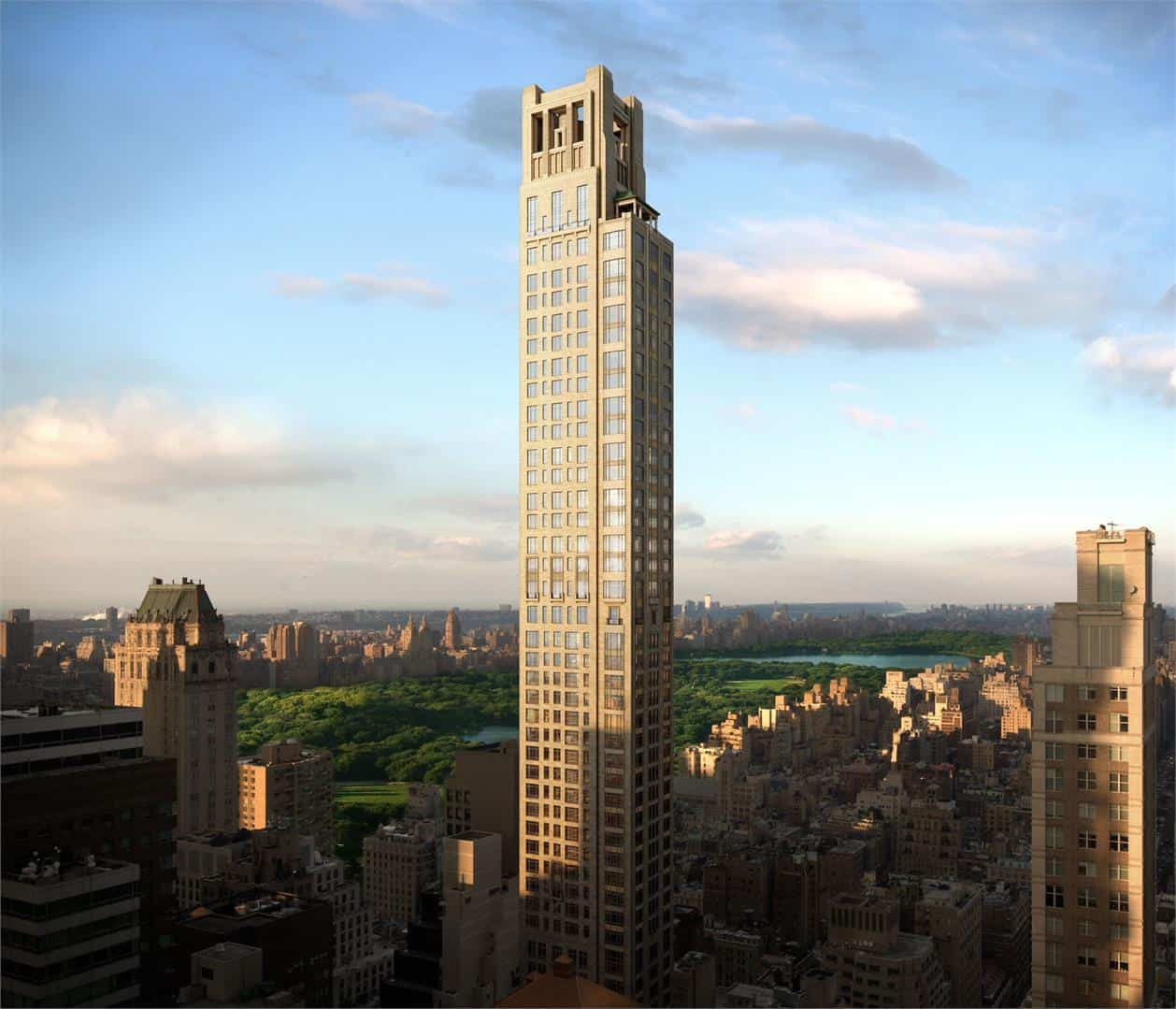 520 park avenue by ramsa to feature the most expensive for Most expensive penthouse in nyc