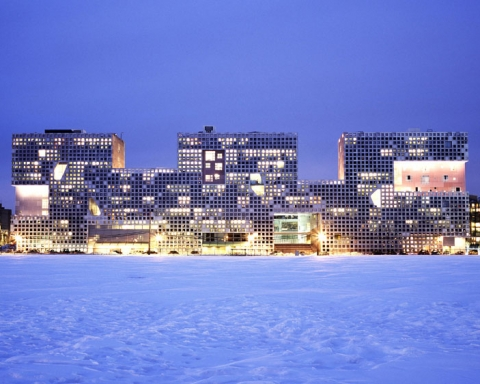 MIT Simmons Hall by Steven Holl architects 1