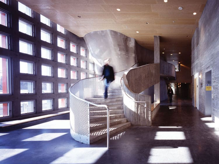 MIT Simmons Hall by Steven Holl architects 10
