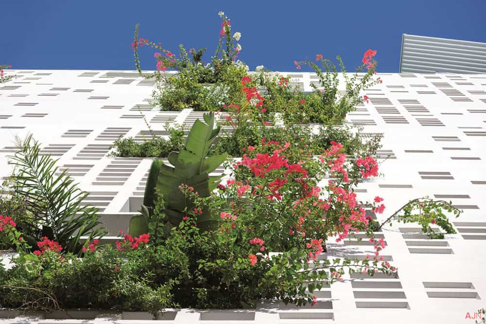 White walls in Cyprus by Ateliers Jean Nouvel 8
