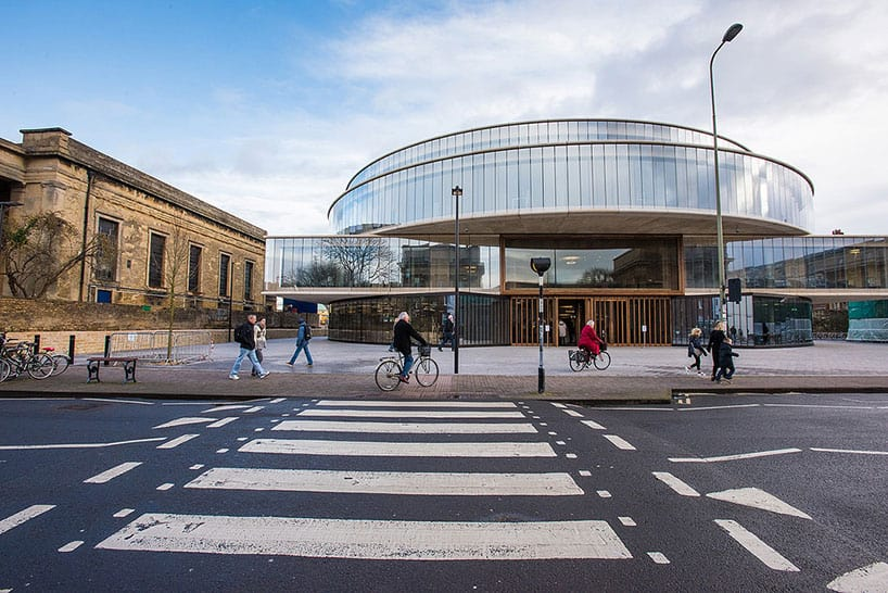 blavatnik school of government by herzog & de meuron university of oxford england 1