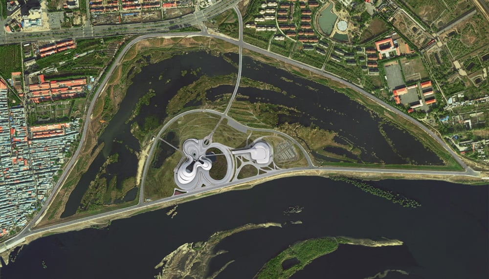 Harbin Opera House China MAD architects masterplan_archute 1