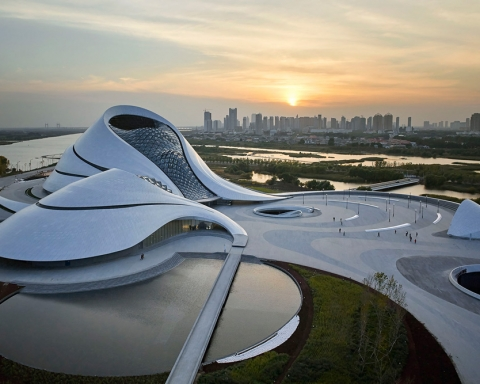 Harbin Opera House China MAD architects_archute 19