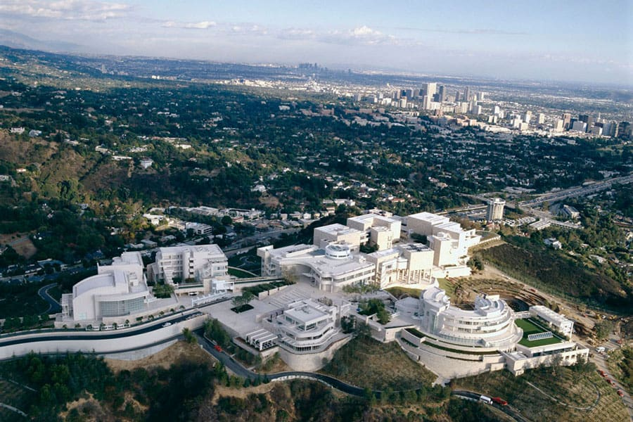 getty-center-museum-los-angeles-aerial-view