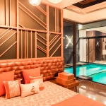studio ardete pool yard house Panchkula india 2 archute
