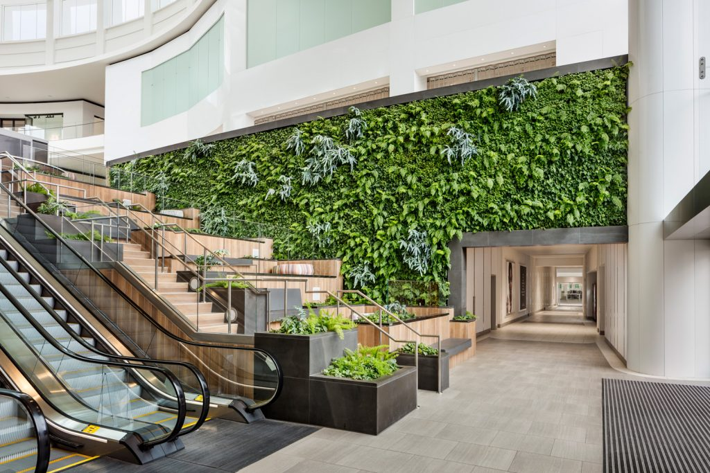 del amo fashion centre living wall torrence california habitat horticulture archute 4