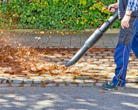 leaf blower cfm vs mph