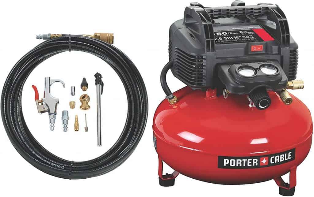 porter air compressor for home use