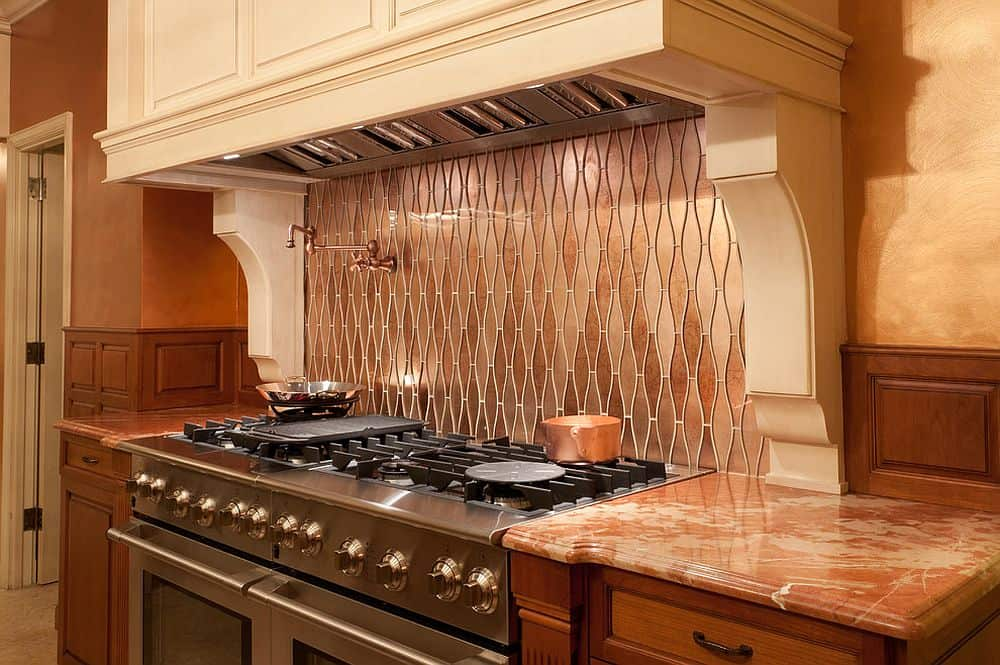 how to install copper tiles