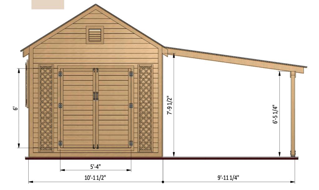 shed details