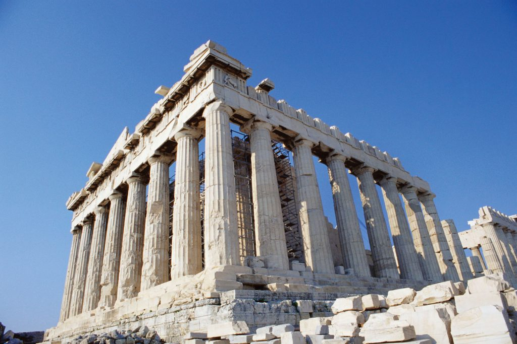 parthenon classical building